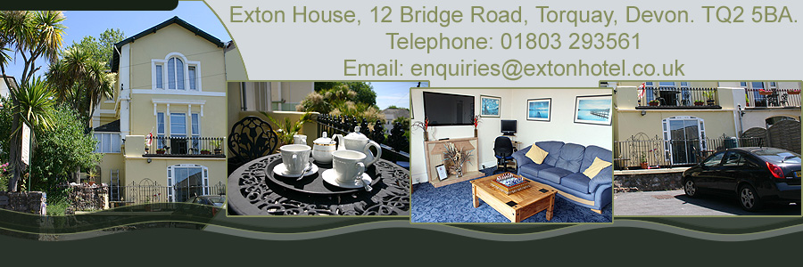 Exton House b and b Torquay
